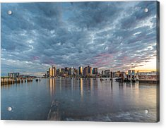 Boston From Carletons Whahrf Acrylic Print