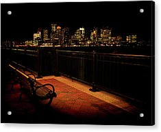 Boston Lamplight Acrylic Print