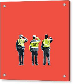 Boston Marathon Bombing Acrylic Print by Shay Culligan