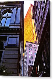 Boston Acrylic Print by Michael Braun
