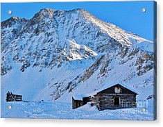 Boston Mine Winter 3 Acrylic Print