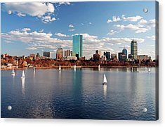 Boston On The Charles  Acrylic Print