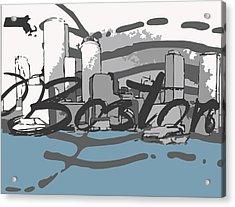 Beantown Acrylic Print