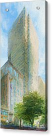 Boston Private Bank At Post Office Square Acrylic Print