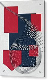 Boston Red Sox Art Acrylic Print by Joe Hamilton