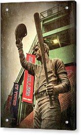 Boston Red Sox - Carl Yastrzemski Acrylic Print by Joann Vitali
