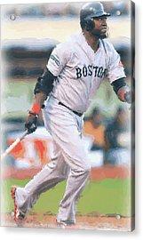 Boston Red Sox David Ortiz Acrylic Print