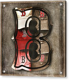 Boston Red Sox  - Letter B Acrylic Print