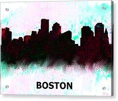 Boston Skyline  1 Acrylic Print
