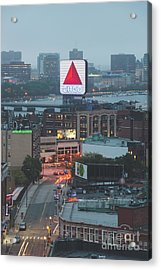 Boston Skyline Aerial Photo With Citgo Sign Acrylic Print