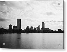Boston Skyline Acrylic Print by Utopia Concepts