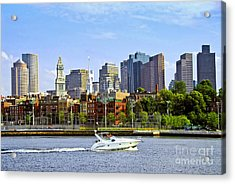 Boston Skyline Acrylic Print by Elena Elisseeva