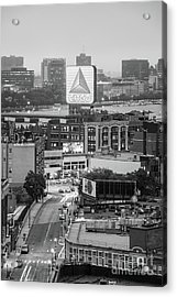 Boston Skyline Photo With The Citgo Sign Acrylic Print by Paul Velgos
