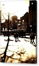 Boston Streetcar Acrylic Print