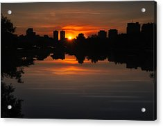 Boston Sunrise Acrylic Print