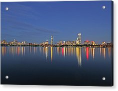 Boston Tallest Skyscrapers Acrylic Print by Juergen Roth