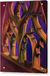 Boston Trinity Church Acrylic Print by Dana Redfern
