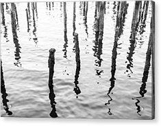 Boston Wharf Ruins Acrylic Print