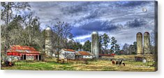 Boswell Farm Greene County Georgia Acrylic Print