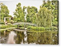 Botanical Bridge - Van Gogh Acrylic Print