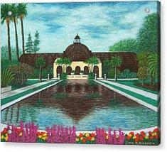Botanical Building In Balboa Park 02 Acrylic Print