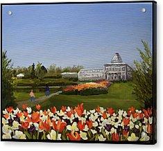 Botanical Garden-lewis Ginter Acrylic Print