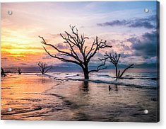 Botany Bay Dawn Acrylic Print by Phyllis Peterson