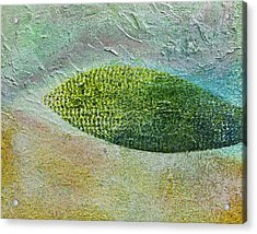 Acrylic Print featuring the painting Botany II by John Hansen