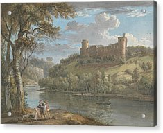 Bothwell Castle, From The South Acrylic Print by Paul Sandby
