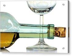 Bottle Plus Glass Acrylic Print