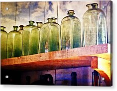 Bottle Row Acrylic Print