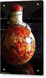 Bottled Fire Acrylic Print