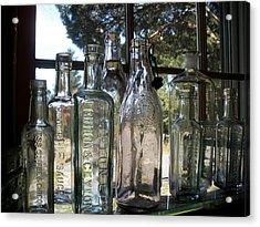 Bottled Up Acrylic Print by Richard Mansfield