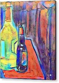 Bottles-still Life  Acrylic Print