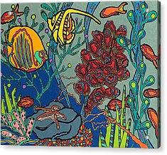 Bottom Of The Sea Acrylic Print by Molly Williams