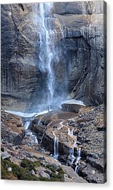 Bottom Part Of Upper Yosemite Waterfall Acrylic Print