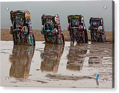 Acrylic Print featuring the photograph Bottoms Up by Stephen Stookey