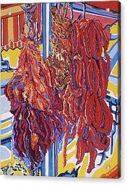 Boucherie Hamdane Freres I Acrylic Print by Robert SORENSEN