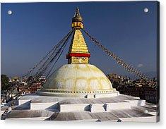 Boudhanath Stupa Acrylic Print