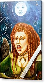 Boudicca  Let Not Our Daughters Be Forgotten Acrylic Print