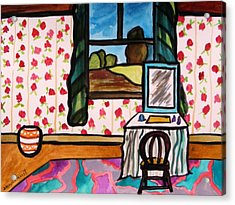 Boudoir Acrylic Print by John Williams