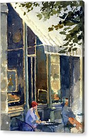 Boulangerie Du Monde, Cedarburg Acrylic Print