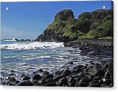 Boulder Beach Acrylic Print by Dennis Cox WorldViews