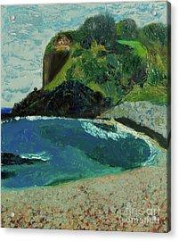 Boulder Beach Acrylic Print by Paul McKey
