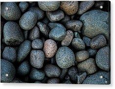 Boulder Beach Rocks Acrylic Print