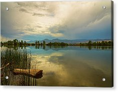 Acrylic Print featuring the photograph Boulder County Colorado Calm Before The Storm by James BO Insogna