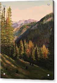 Boulder Pass Acrylic Print
