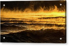 Fire Lake Acrylic Print