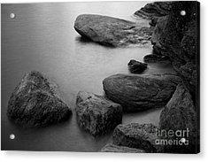 Boulders Acrylic Print by Idaho Scenic Images Linda Lantzy