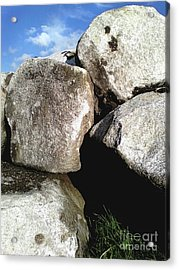 Acrylic Print featuring the photograph Boulders by Rebecca Harman